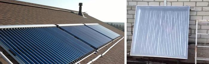 Использование энергии солнца для отопления