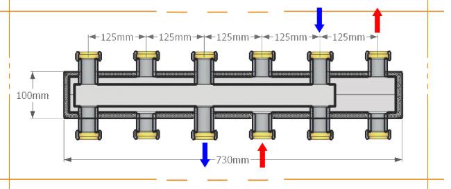 Схема распределителя