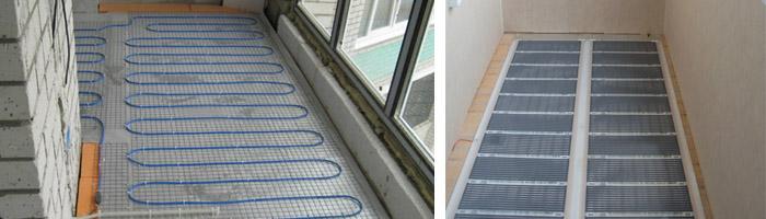 Теплый пол на балконе под плитку или ламинат своими руками, .