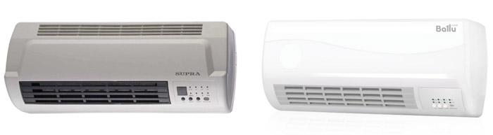Тепловентиляторы Supra и Ballu