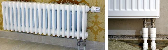 Радиаторы отопления с нижним подключением: схема подсоединения, обзор популярных марок, цены