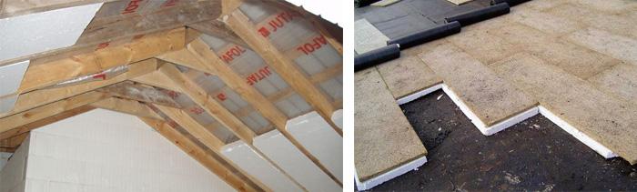 Теплоизоляция пенопластовыми плитами