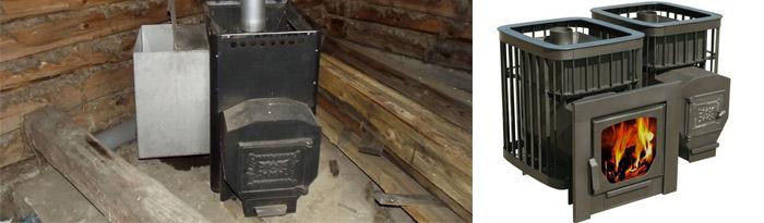 Характеристики печей на дровах