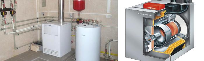 Газовые установки в системе отопления