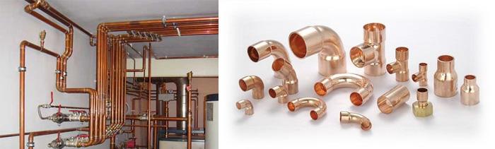 Трубы для отопления из меди