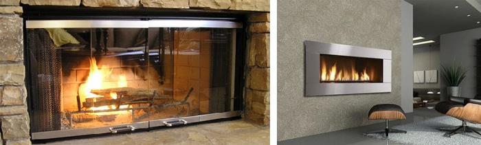 Что такое термо стекло для камина
