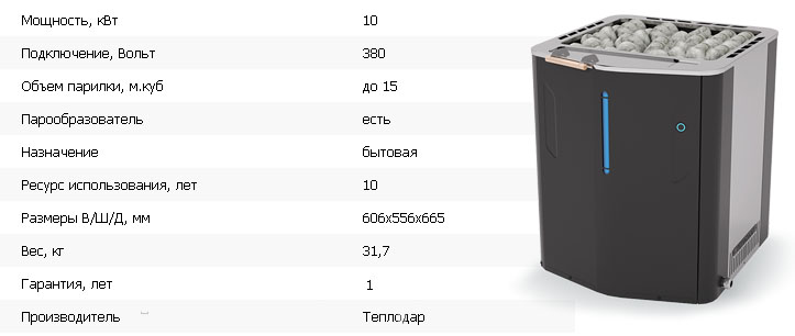 SteamGross 1 Теплодар