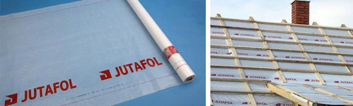 Применение пленки Jutafol
