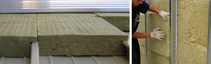 Утеплитель из базальтовых волокон