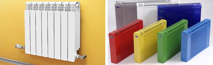 Особенности радиаторов разных типов