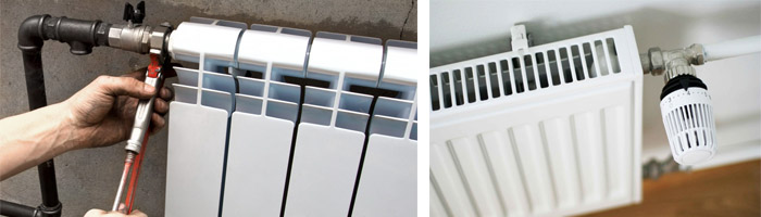 Как установить радиаторы