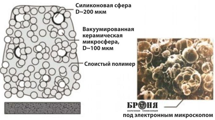 Особенности структуры