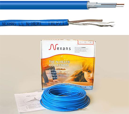 Одножильный кабель Нексанс