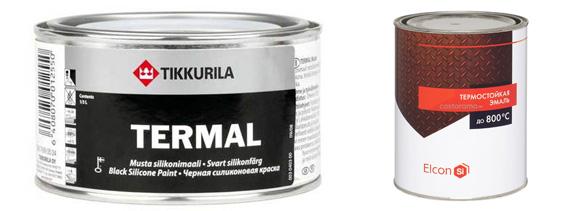 Tikkurila и Elcon для металла